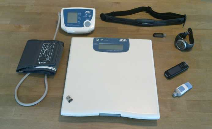 For the demonstrator one patient measured weight and blood pressure using Continua-certified devices and glucose level using a glucometer with a proprietary protocol